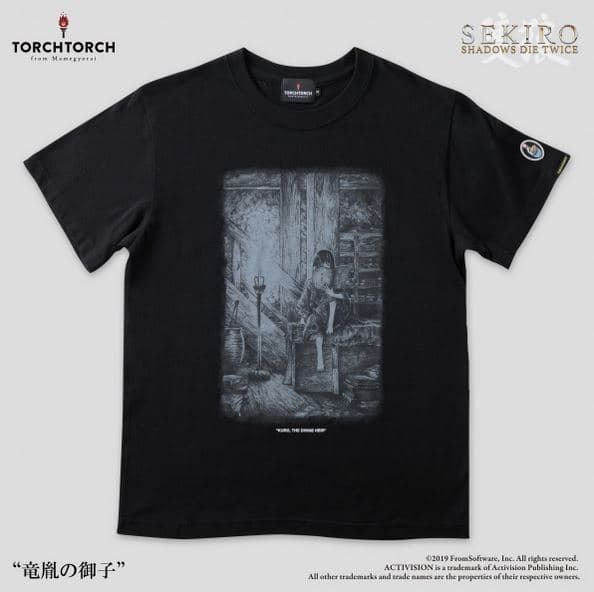 「TORCH TORCH」で販売しているおしゃれなゲームTシャツ