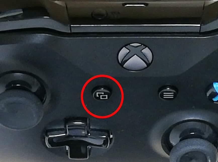 XboxOneコントローラー、10の位置のボタン